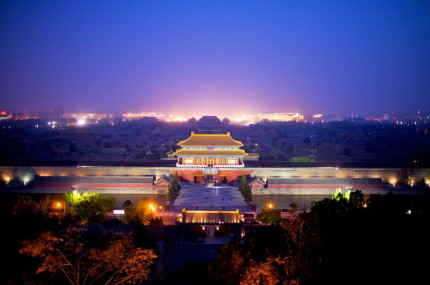 Forbidden City Fluorescent Night View (Distance) BEN MCMILLAN
