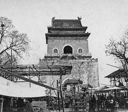 Market below Bell Tower, BJ 1930s 125small