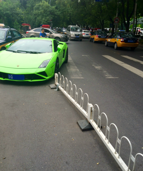 Parking offences in Beijing