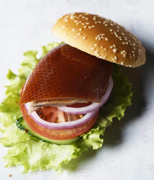 DaDong duck burger