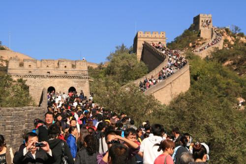 Great Wall Golden Week Badaling