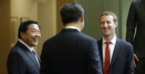 ji jinping and mark zuckerberg