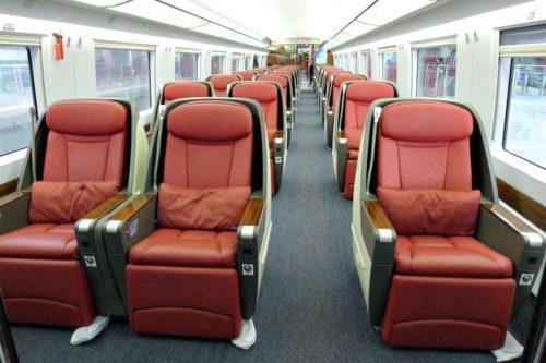 China Train Business Class