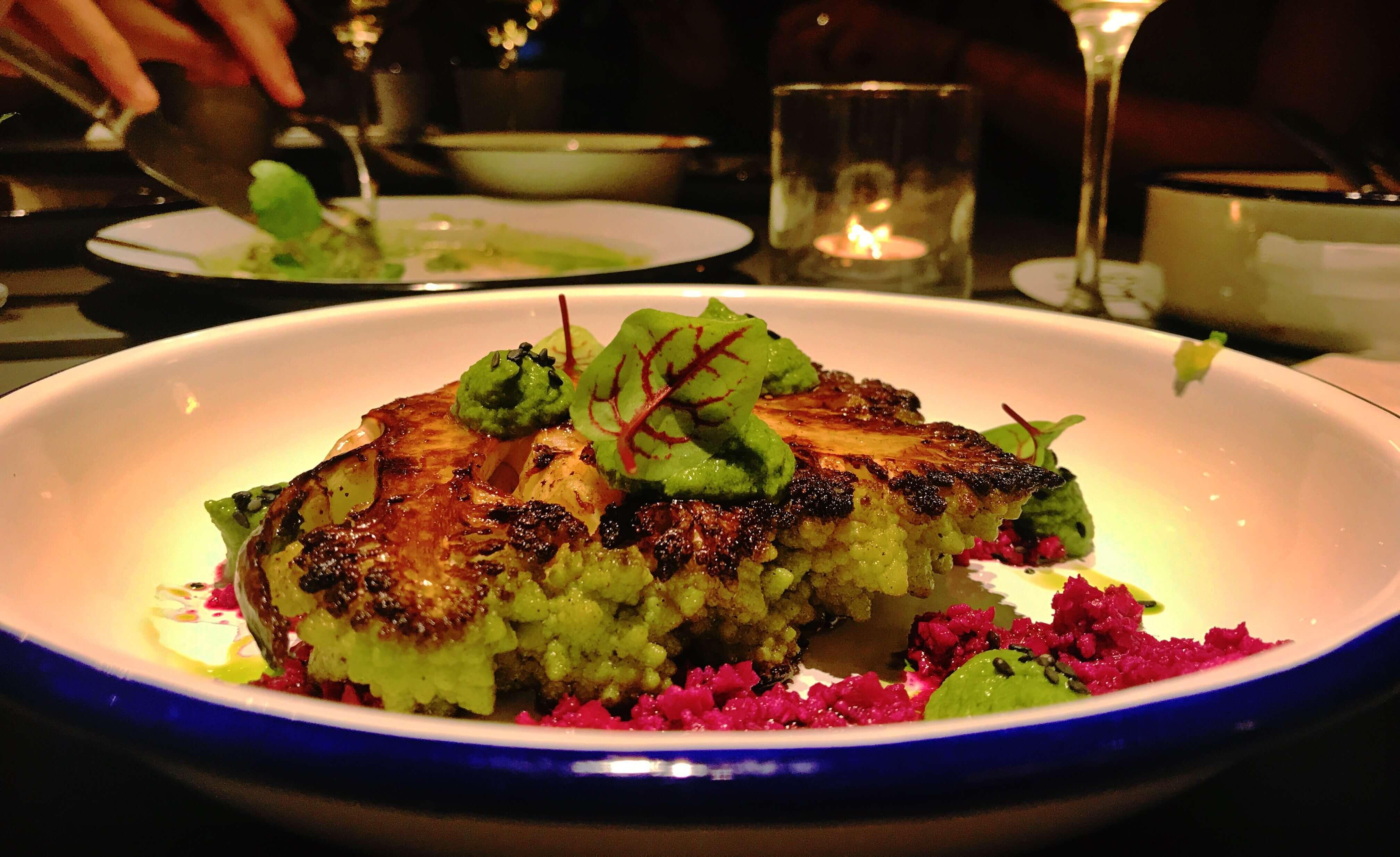 Together restaurant Shanghai cauliflower