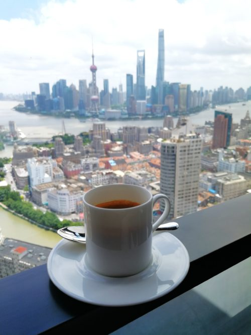 Bulgari Hotel Shanghai: Killer Coffee Break Spot