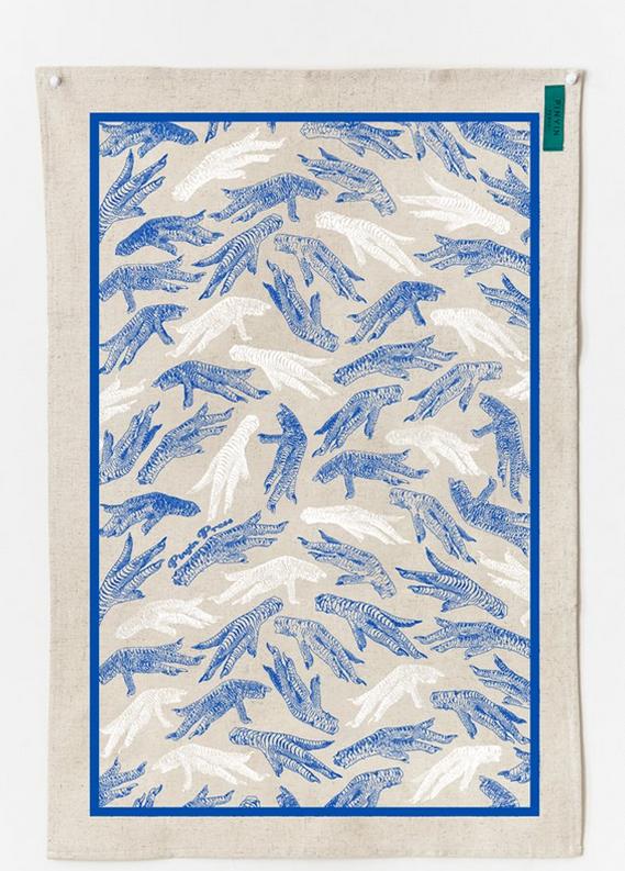 Chicken Foot Tea Towel