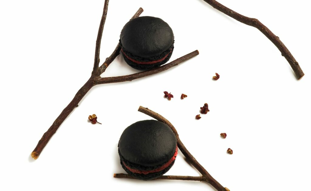 Chili Pepper Macaron - part of Ling Long's Journey of Sweets Dessert