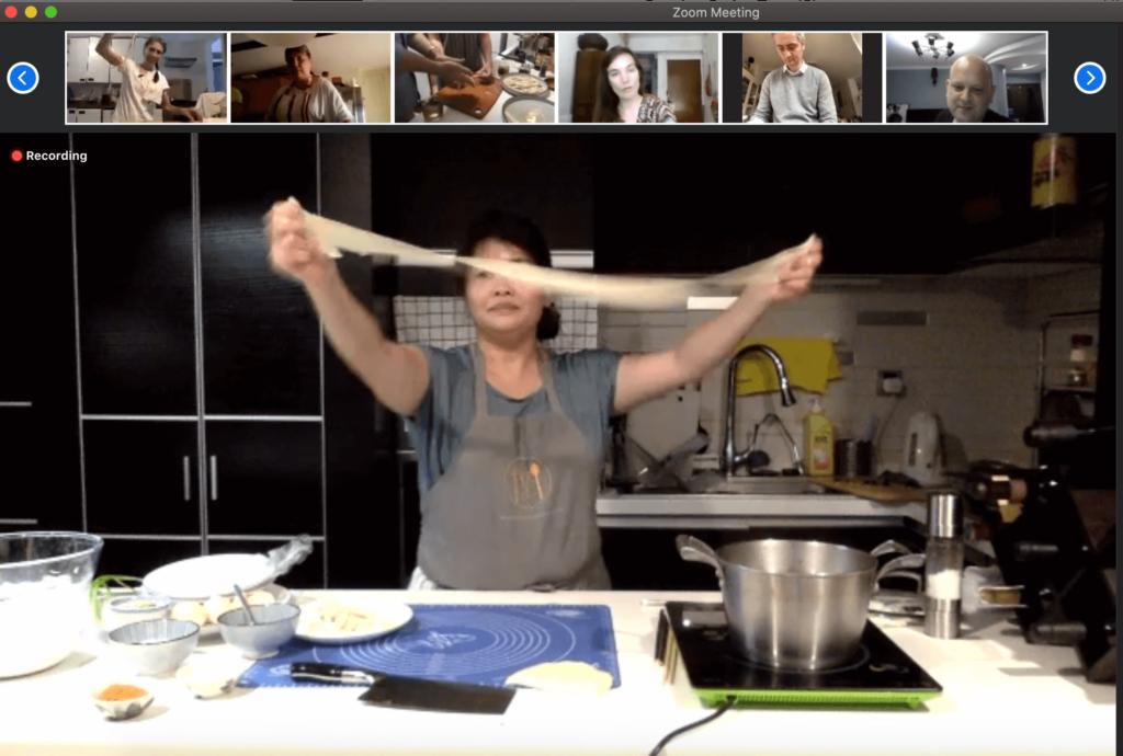 bespoke online noodle making class